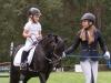 Enni Hagemann und Schwester Leonie im Führzügelwettbewerb