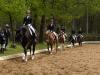 Reiterwettbewerb, vorn Amelie Stöver auf Rialto