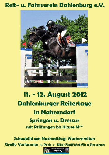Werbebanner Sommerturnier 2012