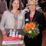 Freude bei Birgit Meyer-Thaut und Iris Wilhelm (Foto: Tamme)